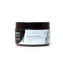 BRAVE. NEW. HAIR. Balance Purifying & Detox Mud Mask 250 ml