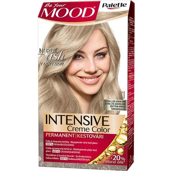 Mood Palette Intensive Cream Colour X-ljus Askblond nr 1