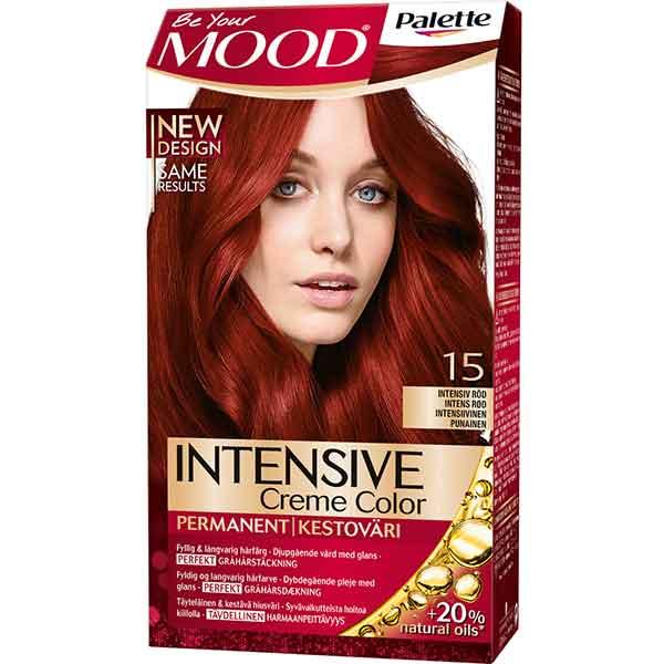 Mood Palette Intensive Cream Colour Intensiv Röd nr 15