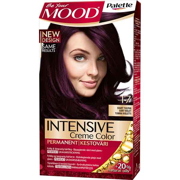 Mood Palette Intensive Cream Colour Svart Tulpan nr 17