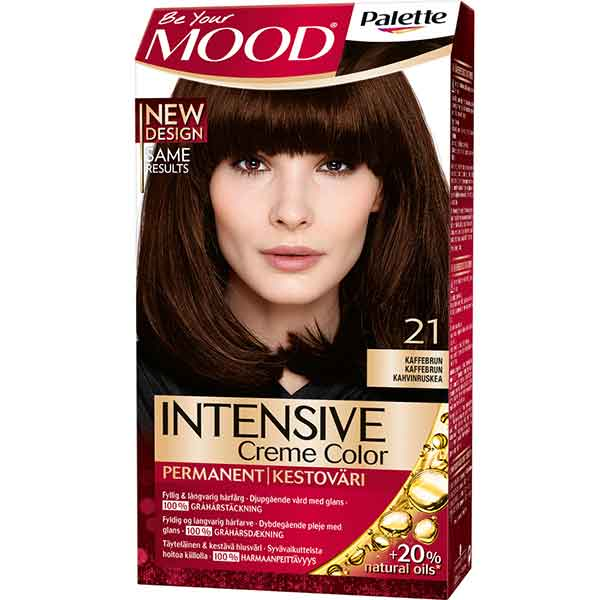 Mood Palette Intensive Cream Colour Coffee Brown nr 21