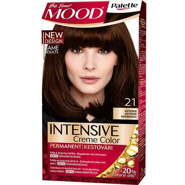 Mood Palette Intensive Cream Colour Coffee Brown nr 21