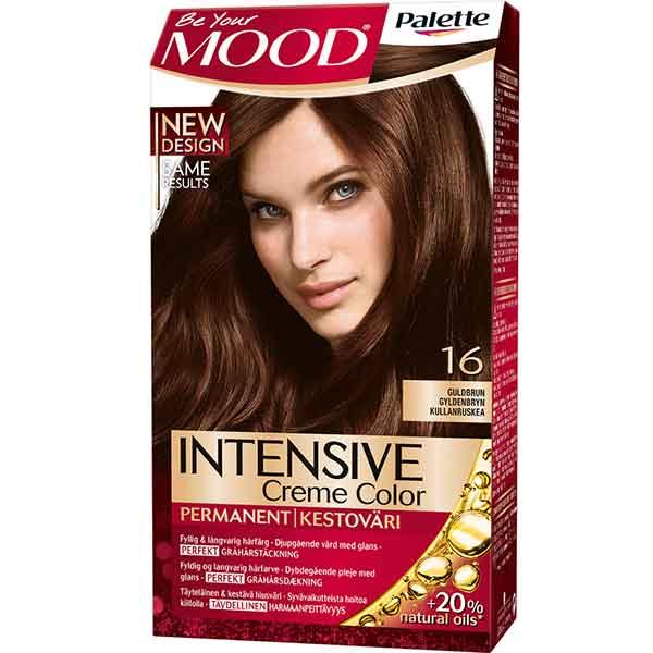 Mood Palette Intensive Cream Colour Guldbrun nr 16