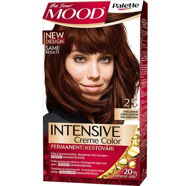 Mood Palette Intensive Cream Colour Chokladbrun nr 25