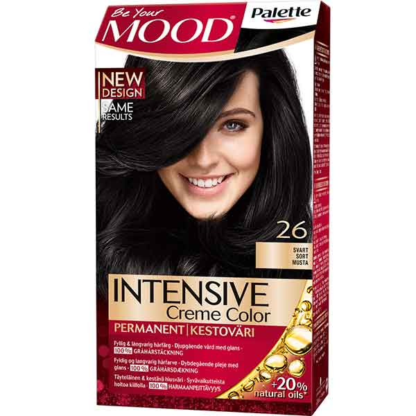 Mood Palette Intensive Cream Colour Svart nr 26