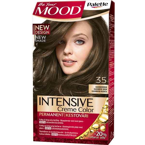 Mood Palette Intensive Cream Colour Kashmirbrun nr 35