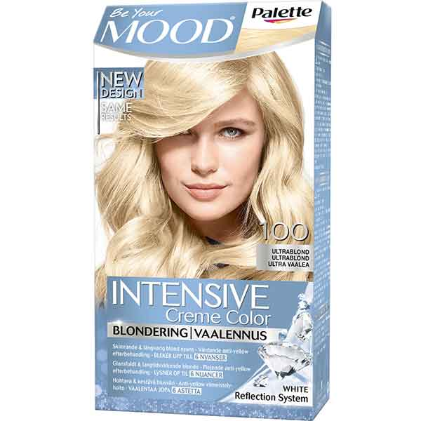 Mood Palette Intensive Cream Colour Blondering Ultrablond nr 100