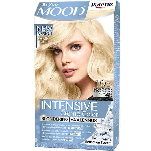 Mood Palette Intensive Cream Colour Blondering Ultrablond X-tra nr 105