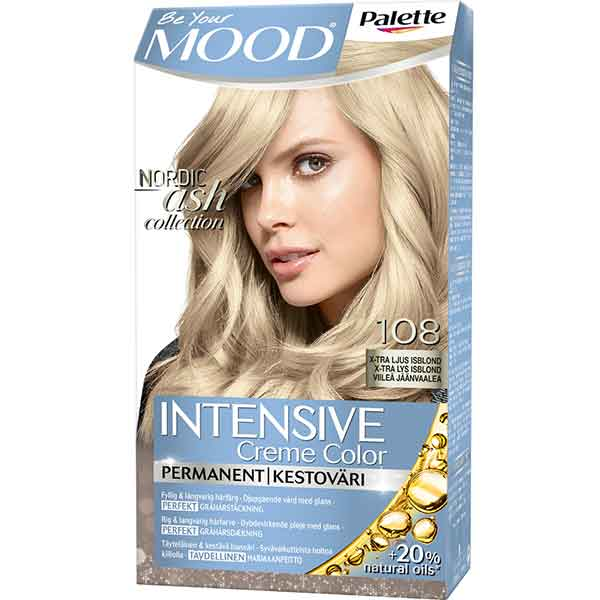 Mood Palette Intensive Cream Colour X-tra Ljus Isblond nr 108