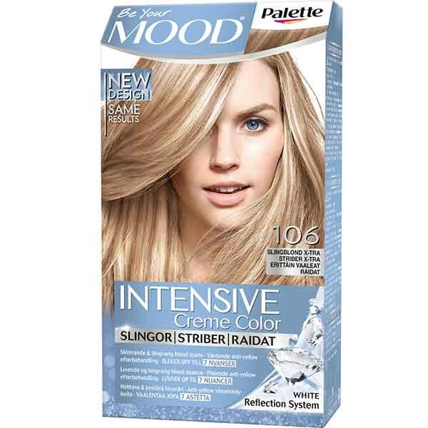Mood Palette Intensive Cream Colour Slingor Slingblond X-tra nr 106