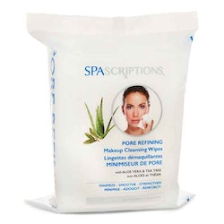 SPASCRIPTIONS Pore Refining Makeup Cleansing Wipes
