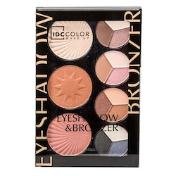 IDC Color Eyeshadow & Bronzer Palette