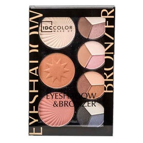 IDC Color Eyeshadow & Bronzer Palette