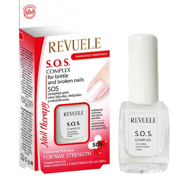 REVUELE S.O.S. Complex for Soft, Thin and Stratified Nails