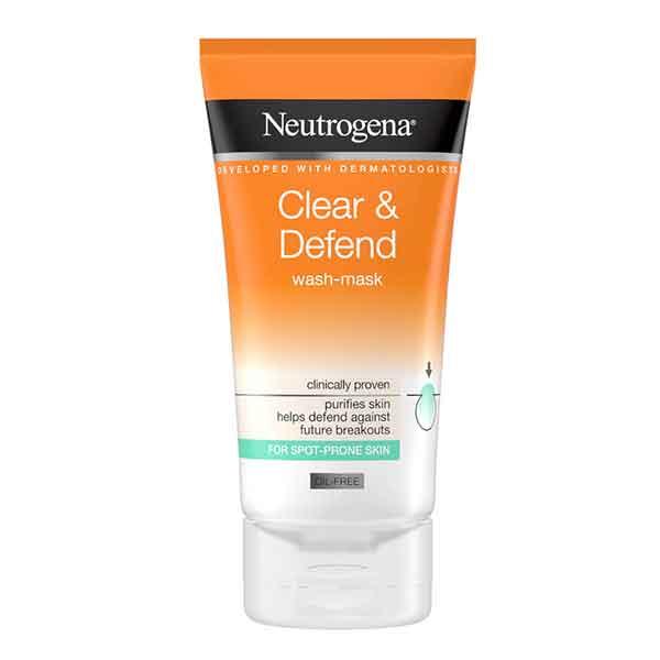 Neutrogena Clear & Defend Wash Mask