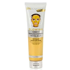 SPASCRIPTIONS Metallics Glowing Metallic Wash-Off Mask