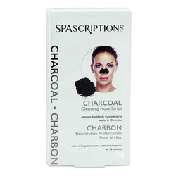 SPASCRIPTIONS Charcoal Cleansing Nose Strips