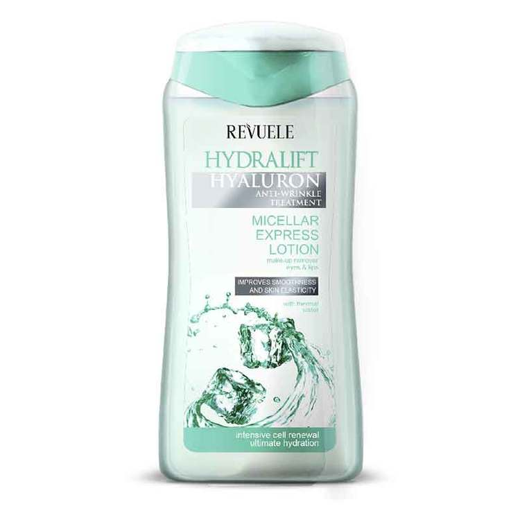 REVUELE Hydralift Hyaluron Micellar Express Lotion Makeup Remover