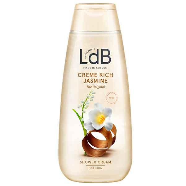LdB Hydra Creme Rich Jasmine Shower Gel