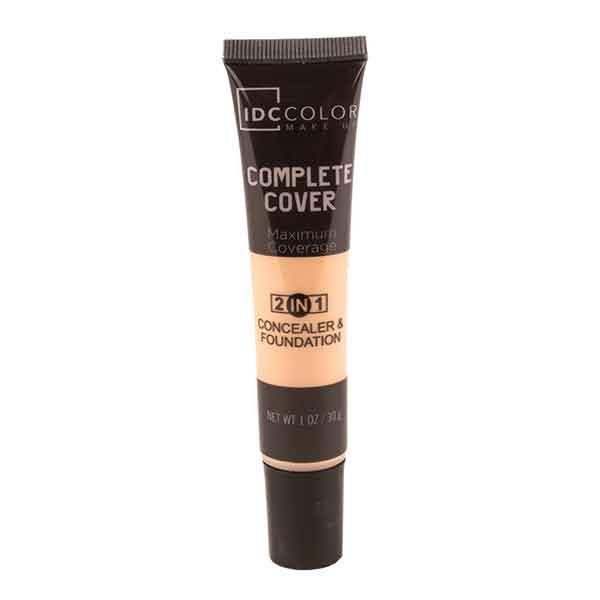 IDC Color Complete Cover 2 in 1 Concealer & Foundation Light