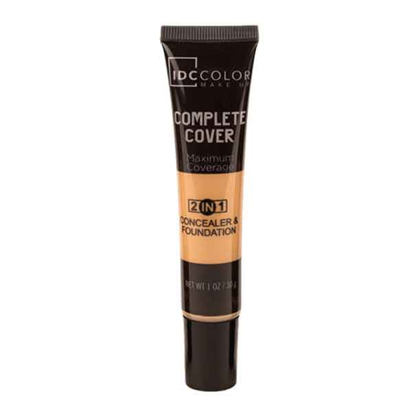 IDC Color Complete Cover 2 in 1 Concealer & Foundation Dark