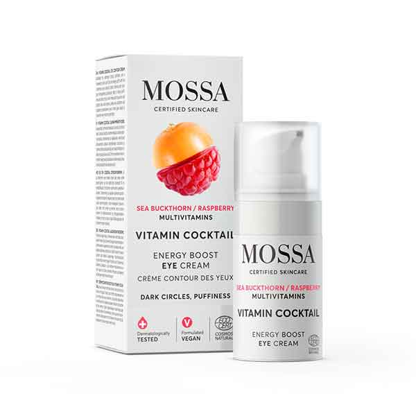 MOSSA Vitamin Cocktail Energy boost eye cream