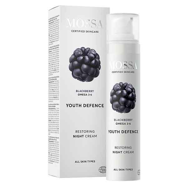 MOSSA Youth Defence Restoring night cream