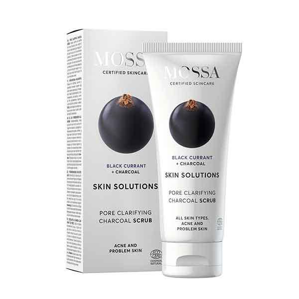 MOSSA Skin Solutions Charcoal Scrub