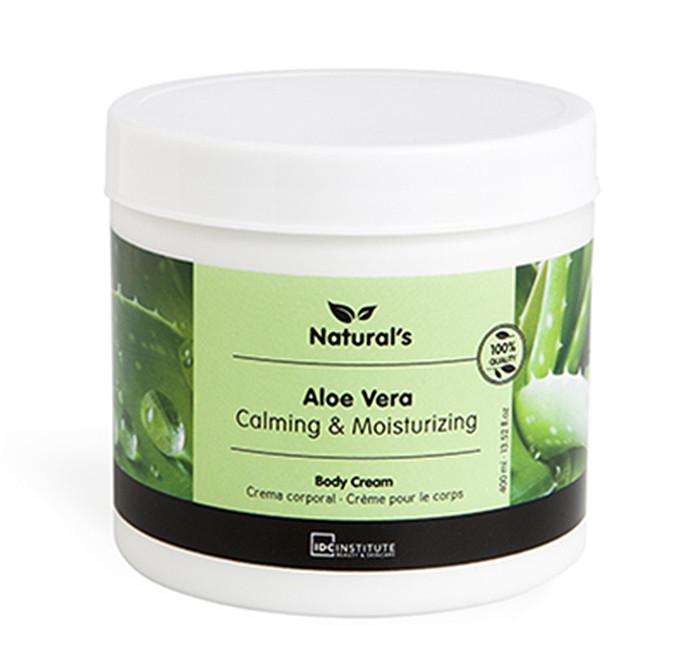IDC INSTITUTE Naturals Body Cream Aloe Vera