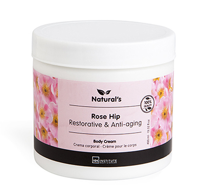 IDC INSTITUTE Naturals Body Cream Rose Hip
