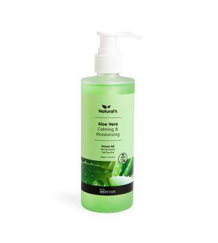 IDC INSTITUTE Naturals Shower Gel Aloe Vera Calming & Moisturizing