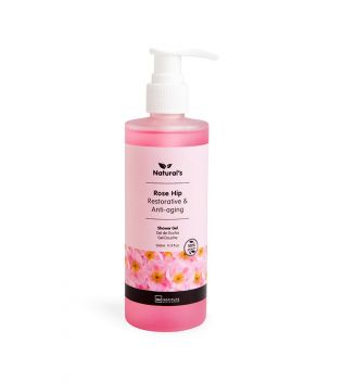 IDC INSTITUTE Naturals Shower Gel Rose Hip Restorative & Anti-aging