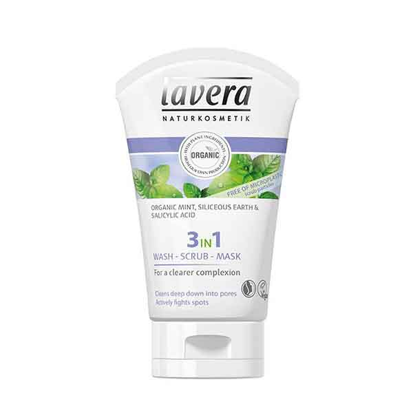 LAVERA 3 in 1 Wash-Scrub-Mask 125 ml