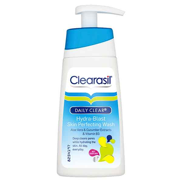 Clearasil Daily Clear Hydra-Blast Skin Perfecting Wash 150 ml