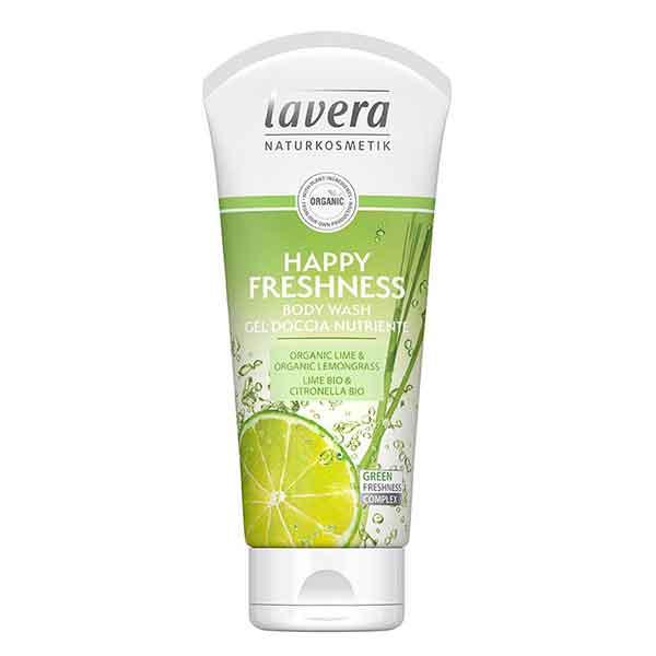 LAVERA Body Wash Happy Freshness Lime 200 ml