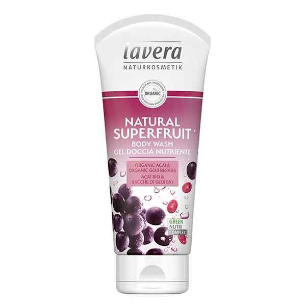 LAVERA Body Wash Natural Superfruit 200 ml