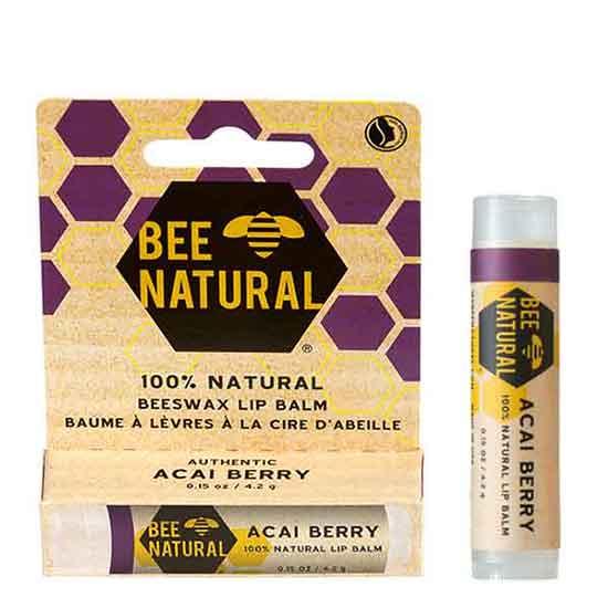 BEE NATURAL Lip Balm Acai Berry