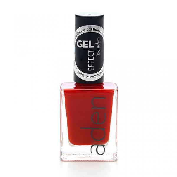 Aden Gel Effect Nail Polish 08 Red