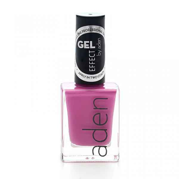 Aden Gel Effect Nail Polish 14 Purple