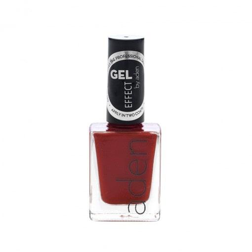 Aden Gel Effect Nail Polish 17 Carmine Red