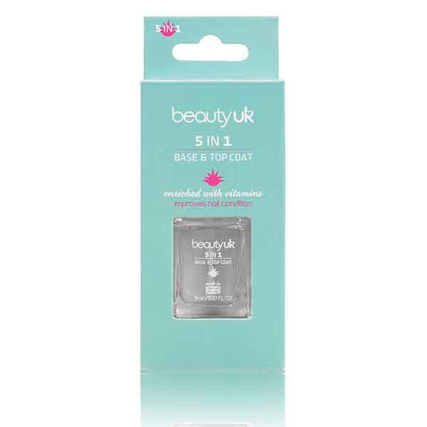 Beauty UK 5 In 1 Base & Top Coat