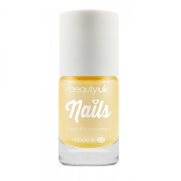 Beauty UK Candy Pearl Nail Polish - Lemon