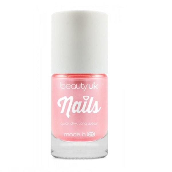 Beauty UK Candy Pearl Nail Polish - Pink