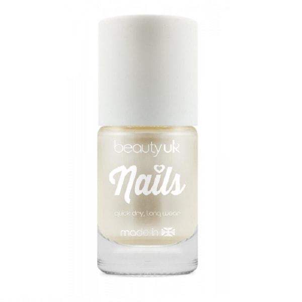 Beauty UK Candy Pearl Nail Polish - White
