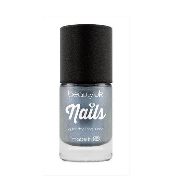Beauty UK Chrome Nail Polish - Blue