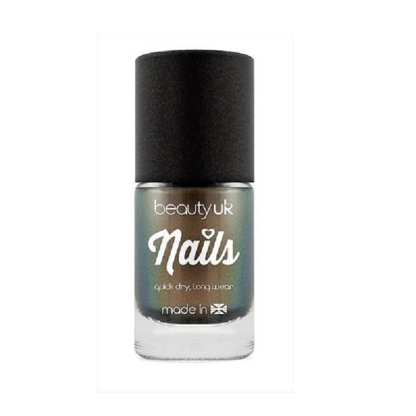 Beauty UK Chrome Nail Polish - Deep Gold