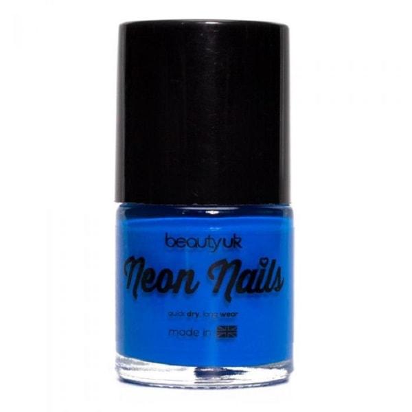 Beauty UK Neon Nail Polish Blue
