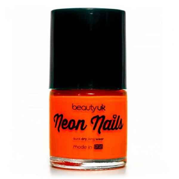 Beauty UK Neon Nail Polish Orange