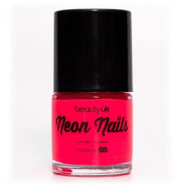 Beauty UK Neon Nail Polish Pink