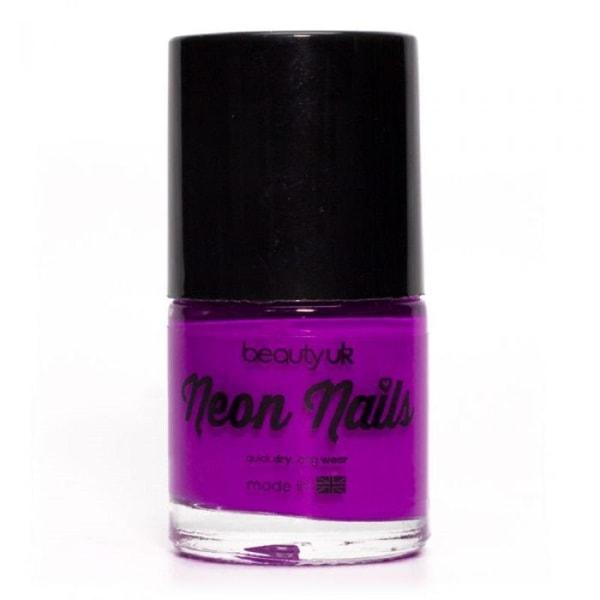 Beauty UK Neon Nail Polish Purple